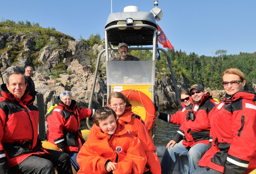 Croisière du capitaine - voir des baleines et bélugas au Canada